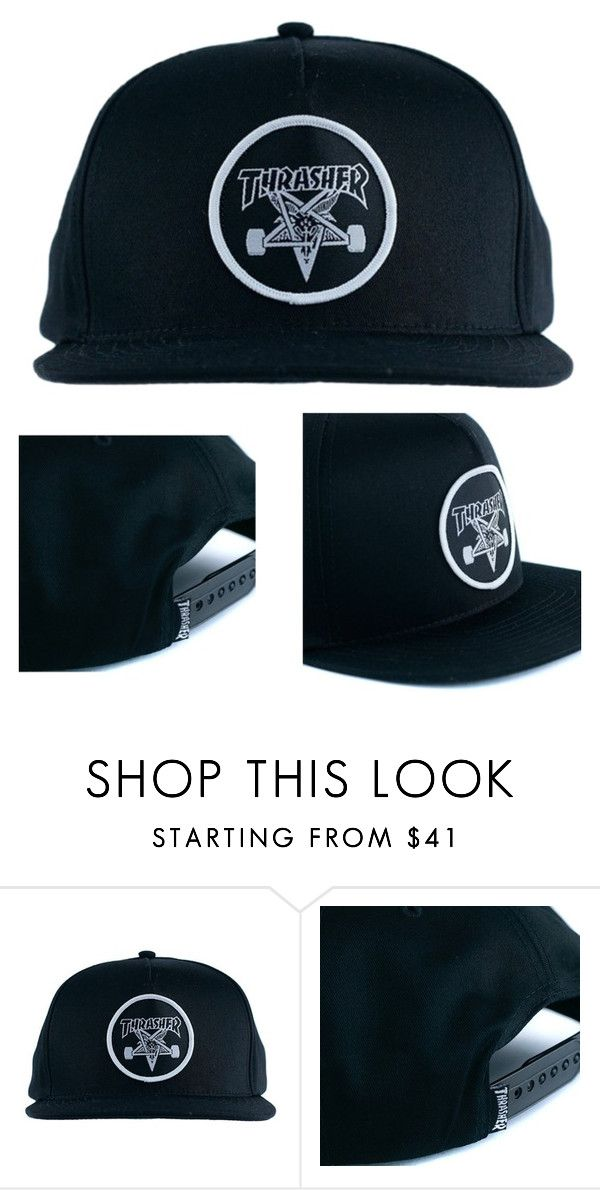 Loving This New Thrasher Snapback. Could Be Yours For Only £26.95. by blacksheepstore on Polyvore
