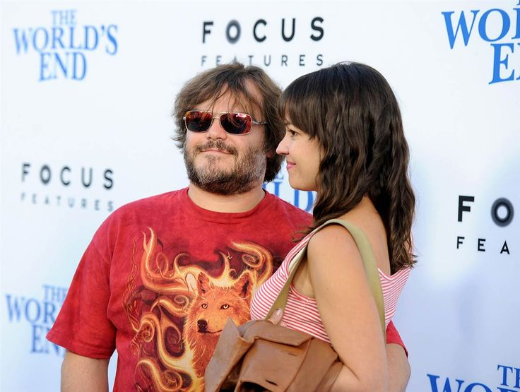 Jack Black and his wife Tanya Haden