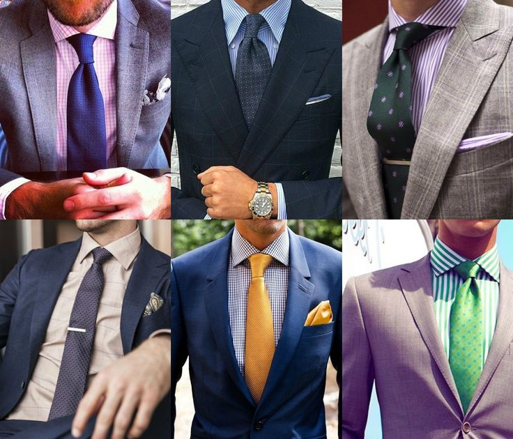 #Don't ruin your suit: it doesn't matter how beautiful your suit is, if you don't know how to do a dress shirt and tie color combinations, you will fail on the style category.