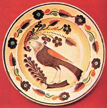 Tál (19. sz. közepe) Rajczy Mihály munkája. Mezőcsát
