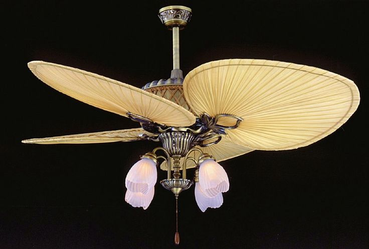 1000 Images About Palm Woven Bamboo Blade Ceiling Fans