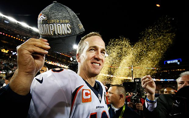 Super Bowl 50: Peyton Manning and the Denver Broncos win the Super ...