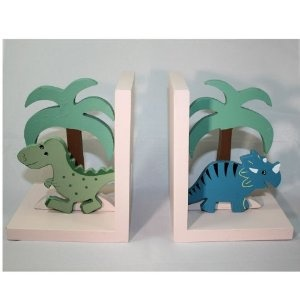 For our dinosaur nursery! I should have done animal ones for E' s nursery. Much sturdier than those cheap metal ones.