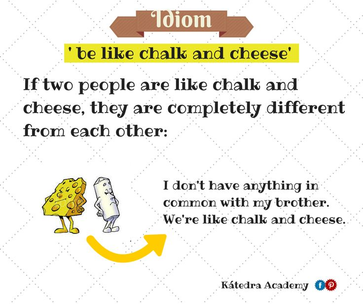 best idioms images english idioms idioms and english idioms in different languages to be like chalk and cheese