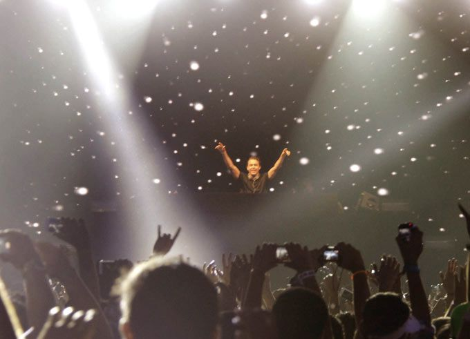 DJ Avicii at his music concert. #Fashion #Style #Beauty #Page3