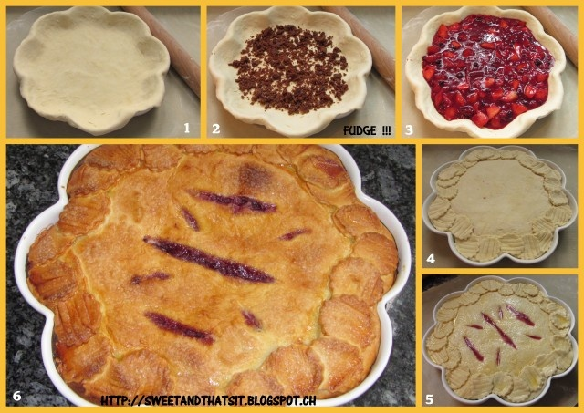 Sweet and That's it: Blueberry Nectarine Pie - Crostata ai Mirtilli e Pesca Noce - Baking with Julia