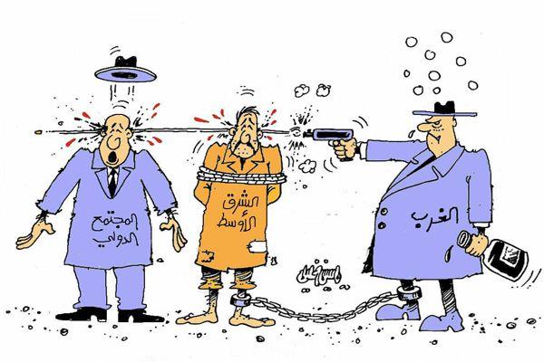 كاريكاتير صحيفة تشرين