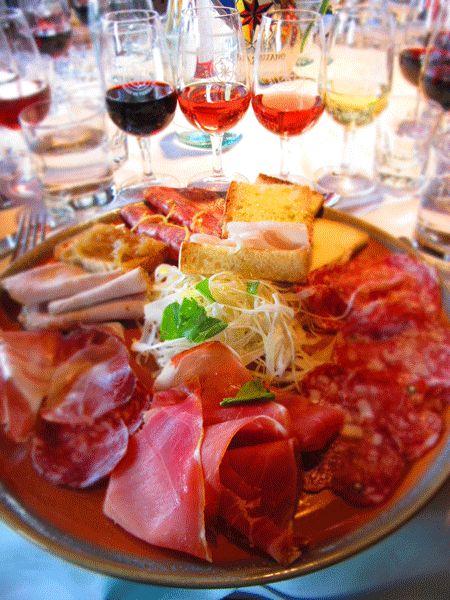 Lunch at the Castello di Verrazzano vineyard, #Chianti, #Tuscany, #Italy