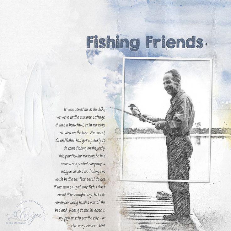 Fishing Friends by Eijaite.deviantart.com on @DeviantArt