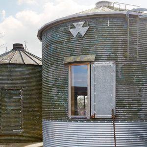 Small Metal Grain Storage Bins
