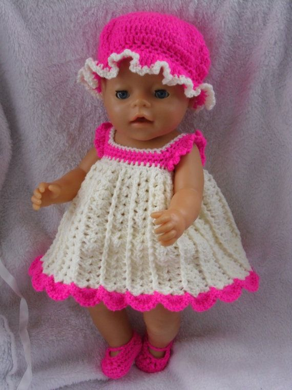 Crochet Pattern Baby Doll : Crochet pattern for 17 inch baby doll