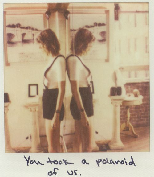 Taylor Swift Polaroid 5 - Out Of The Woods #1989