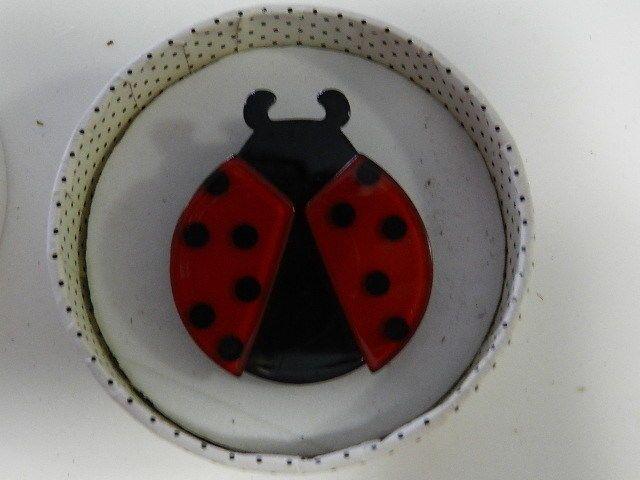 Erstwilder Brooch LADY BEETLE Polkadot Rockabilly in Jewellery & Watches | eBay