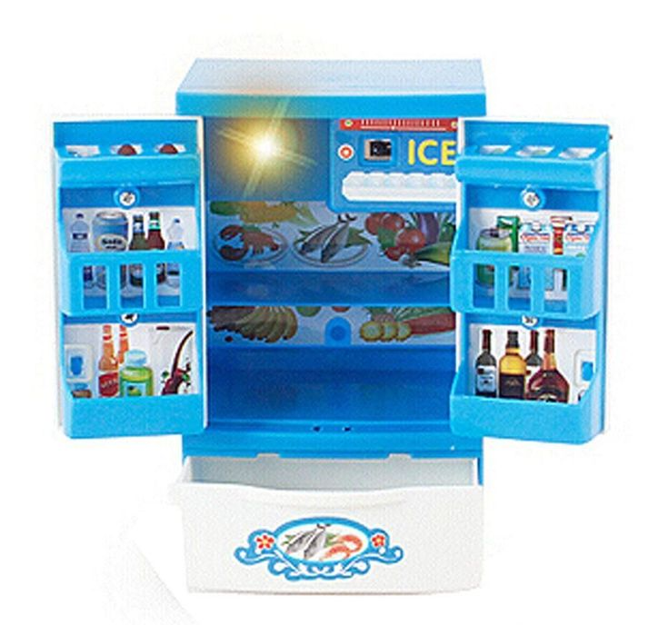 MINI Home Appliance Model Toys Kids Electronic Toys Play Toys(Fridge) #HomeAppliancesElectronics