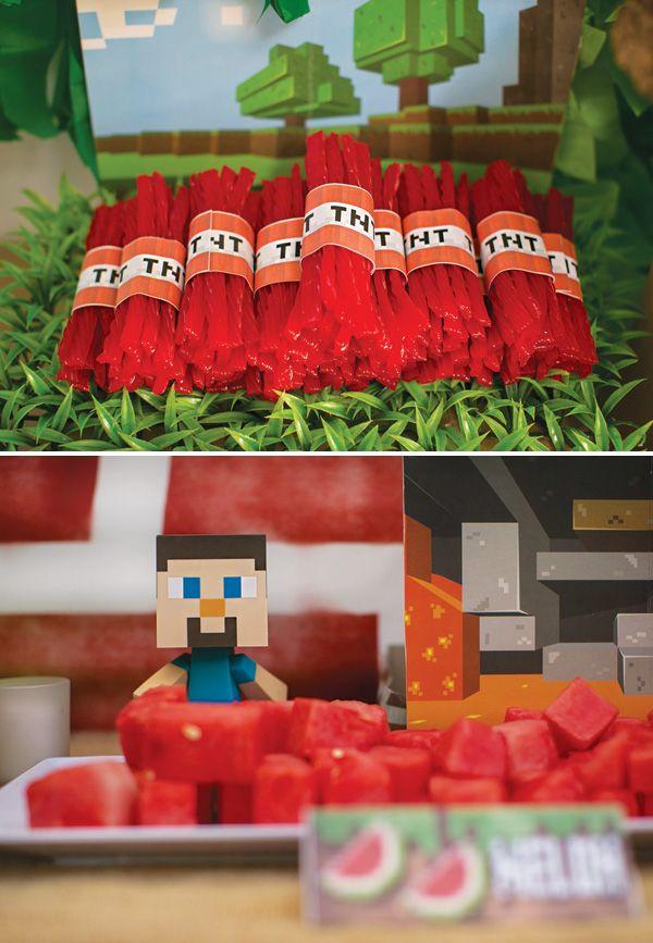 Minecraft TNT Red Vine bundles