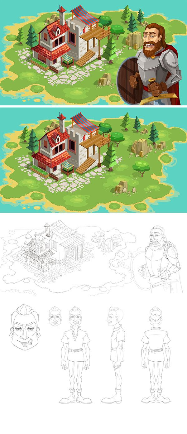 Build your city on Behance
