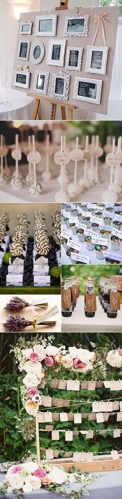 Listas de Invitados en las bodas – Ideas para colocar y presentar... | Blog con ideas originales para organizar tu boda. | Bloglovin'