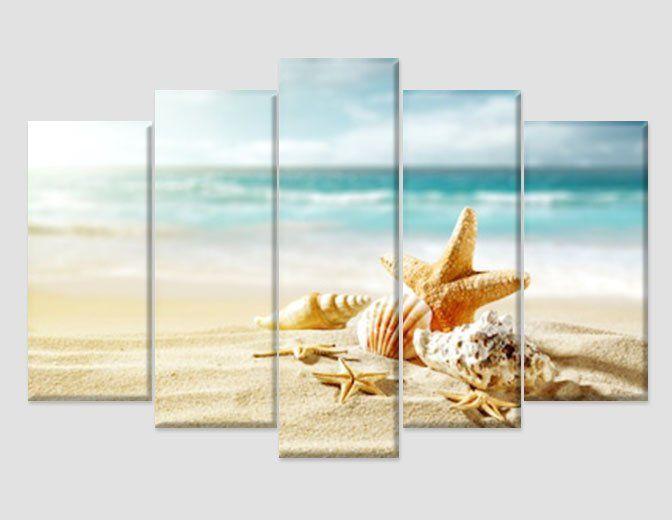Tropical Beach Canvas Art Beach Wall Art Seascape Print Beach