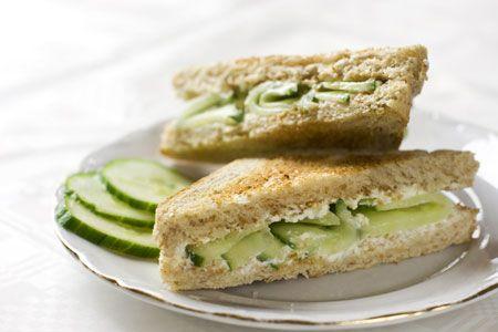 Σάντουιτς αγγουριού - Γρήγορες Συνταγές   γαστρονόμος online