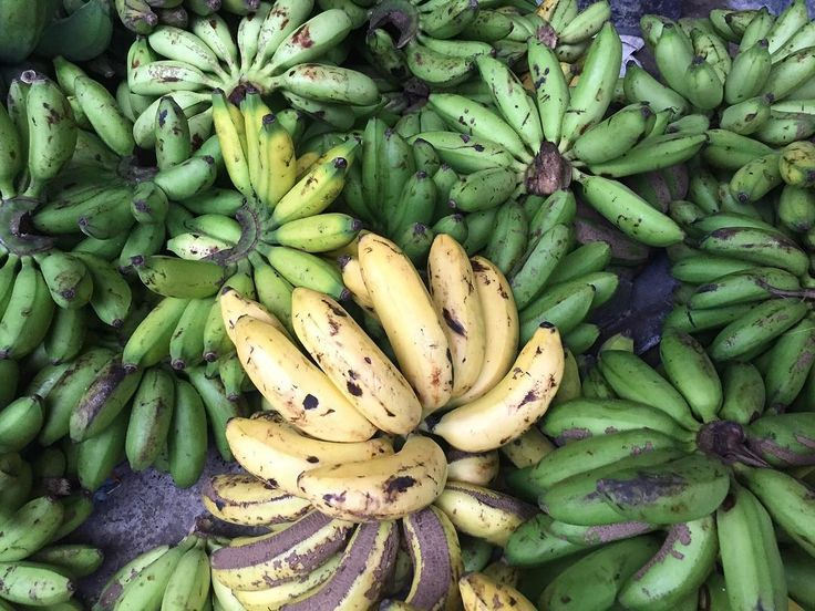 Bananas at the local market. #banana #green #inspiration #local #bali #balilife #indonesia