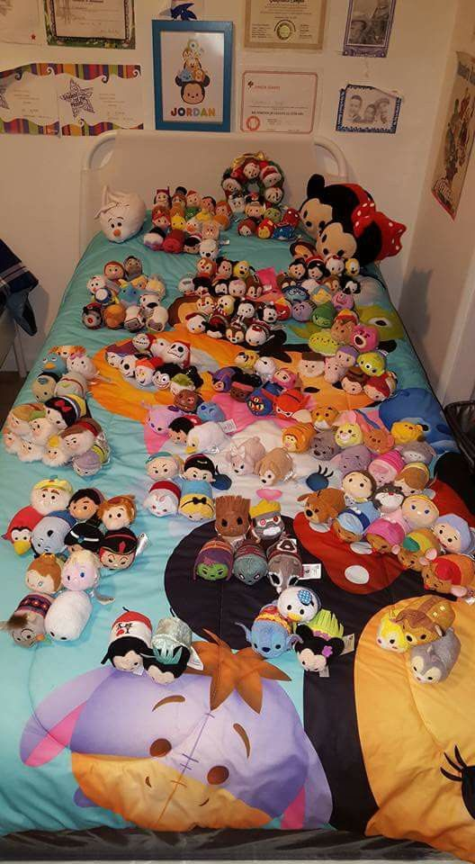 Wow! Someone is a tsum tsum fan < I would agree