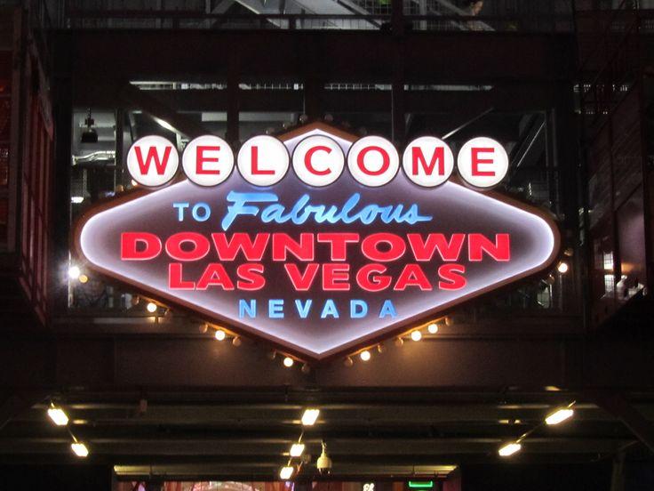 Las Vegas, NV The Las Vegas Downtown sign