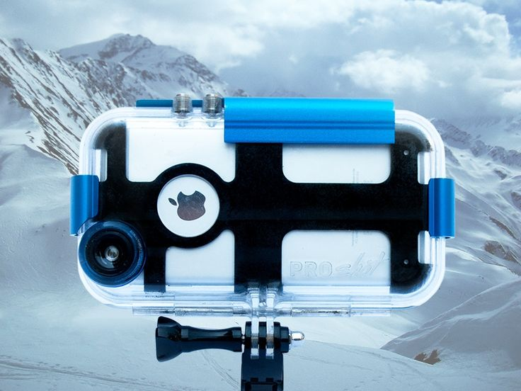 Proshot is a #waterproof case that protects your #iPhone6/6s down to 90 feet! Pre-Order Now: https://www.kickstarter.com/projects/2083538780/turn-your-iphone-6-6s-into-a-gopro-with-the-prosho?utm_medium=Gadget+Flow