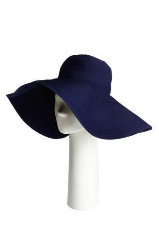 SHAN - Collection 2015 - Hat Navy - www.shan.ca - #Shan #NewCollection #Accessoires #Sun #Hat #Soleil