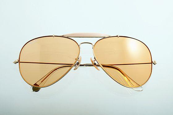 Ray-Ban アビエイター 1970年代 ボシュロム社製 65mm ゴールド×アンバー sun-r03 - アンティーク&オールディーズ オンラインストア