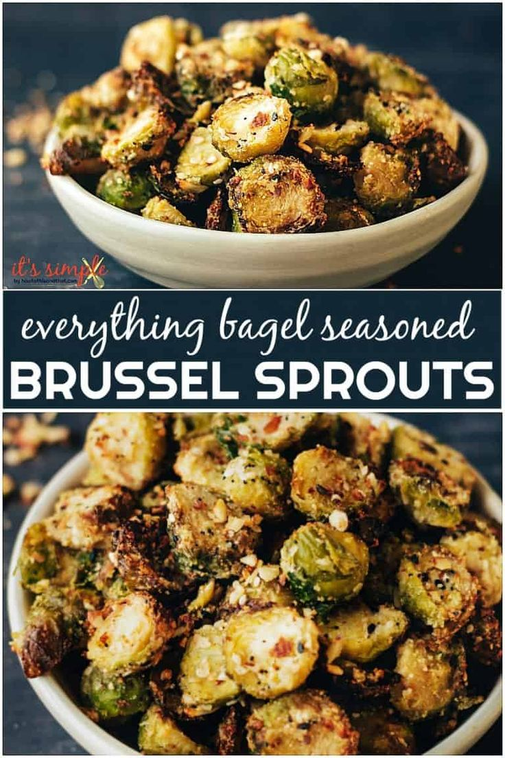 Keto Brussel Sprouts Recipe Made In Air Fryer Or Oven With