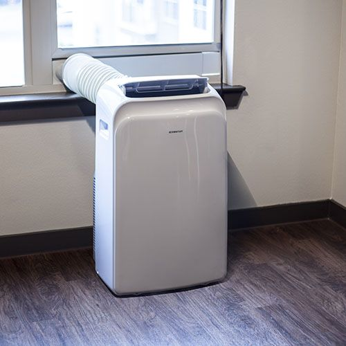 1000 images about heating and air for small spaces on for Small room portable air conditioners