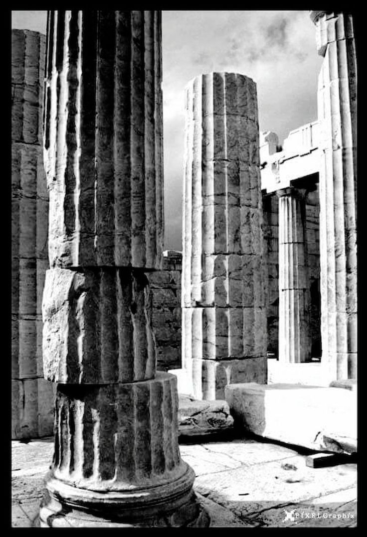 Acropolis Architectural Column Blackandwhite Photography Pixelgraphix First Eyeem Photo