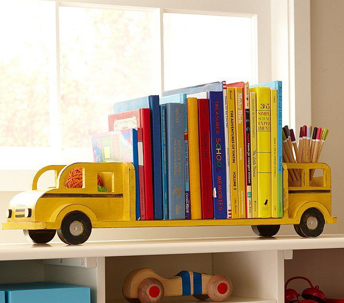 10 Cool Bookends To Style Up Your Little One S Library
