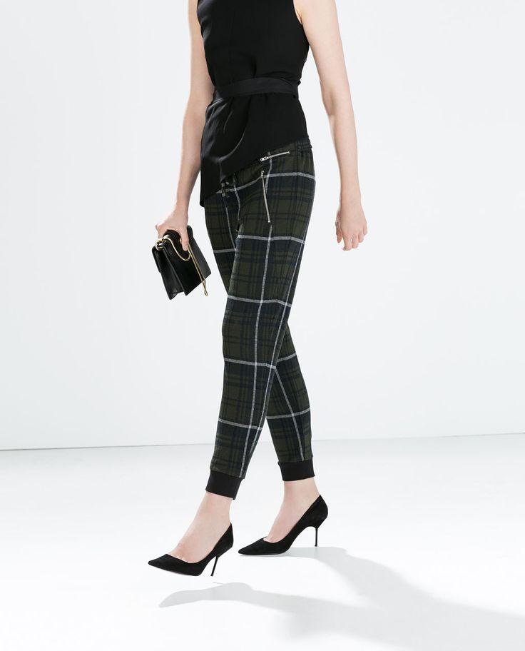 http://www.zara.com/ca/en/woman/trousers/zipped-check-jogging-pants-c269187p2332515.html