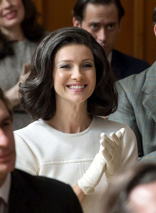 Caitriona Balfe as Claire Randall Fraser - Season 3 Voyager Outlander_Starz - Brianna's High school Graduation - April 13th, 2017