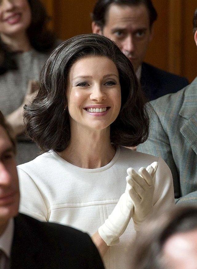 Caitriona Balfe as Claire Randall Fraser - Season 3 Voyager Outlander_Starz - Brianna's High school Graduation - April 13th, 2017