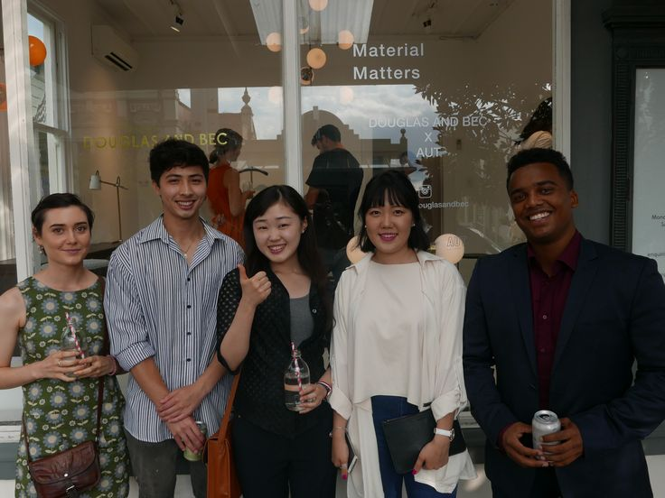 Emerging talent! Meet the AUT Industrial Design students, the young designers behind the Material Matters event at our Auckland showroom