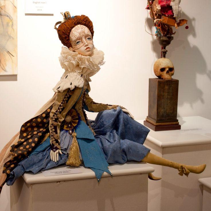 Выставка Коллекция художественной куклы. Галерея Елены Громовой, Москва, 2016