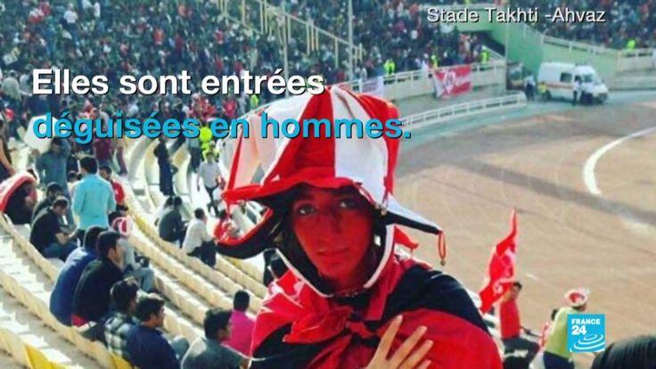 En #Iran, il est interdit aux femmes d'aller voir des matchs de football masculin dans les stades... sauf si... via Les Observateurs - France 24