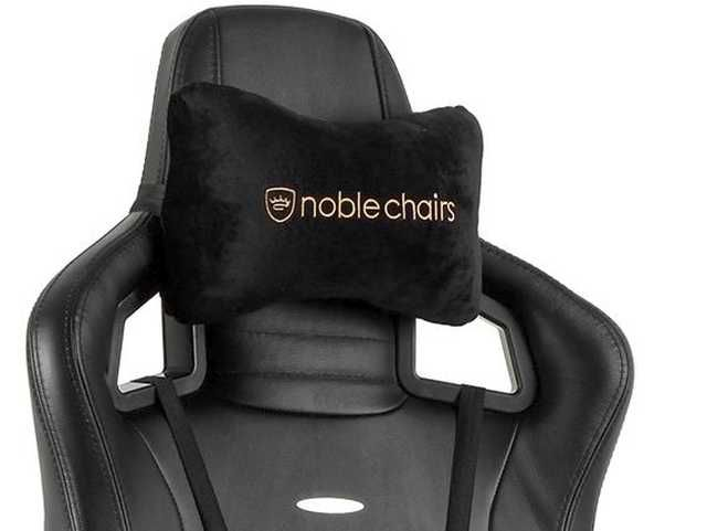 Marvelous Noblechairs Epic Real Leather Gaming Chair Review And Ibusinesslaw Wood Chair Design Ideas Ibusinesslaworg