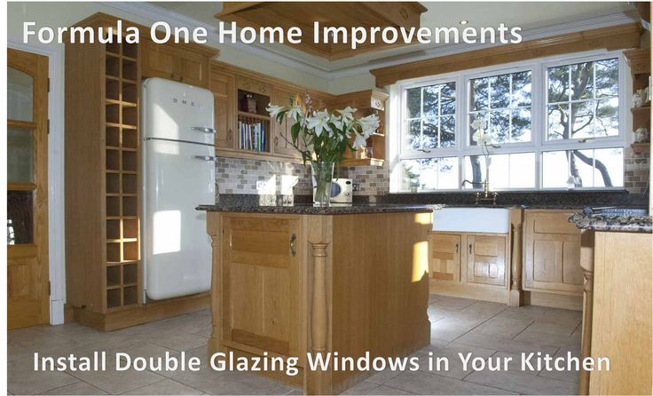 Install double glazing for your beautiful kitchen in Witney. Make it protective and attractive.