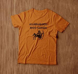 Maroto's Camiseteria Camiseta Acampamento Meio-Sangue 40 R$ http://maroto-s-camiseteria.minestore.com.br/produtos/acampamento-meio-sangue