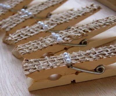 Casamento feito à mão: Um toque de luxo {juta e pérolas}
