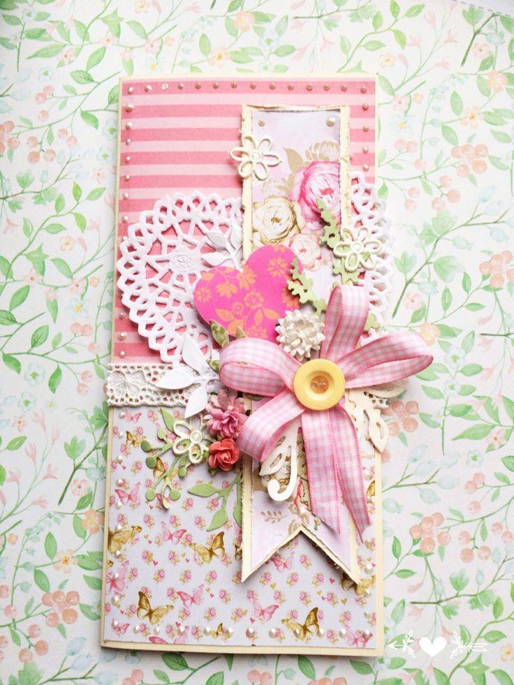 Kartka ręcznie robiona handmade card