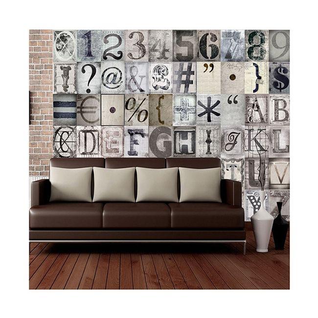 Creative Collage TYPO – Falimatricák - ID Design Kiegészítők - Tapéták, matricák
