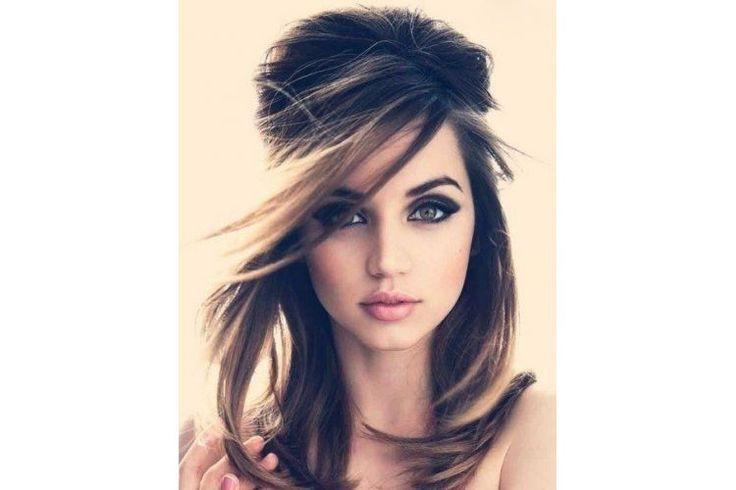 Stylové účesy pro středně dlouhé vlasy