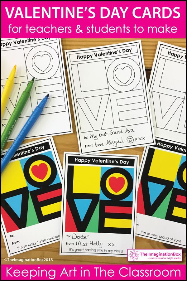 This is an easy, fun Valentine's Day art and craft activity for kids - ideal for parents and for teachers to use in the classroom to make Valentine's Day cards and Valentine's Day decorations. These easy to use printable templates and colouring sheets. Inspired by Pop Art, ideal for grades 3-7. Click on the link to read more and see the full preview of this pdf resource.