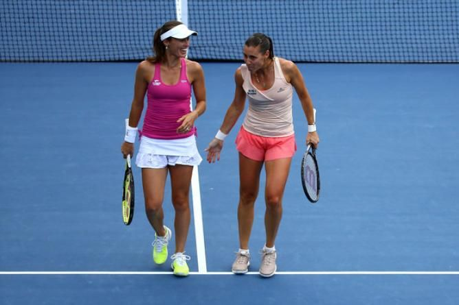 New Doubles Sensation Martina Hingis and Flavia Pennetta into US Open semifinals: ´We Found The Right Partner´