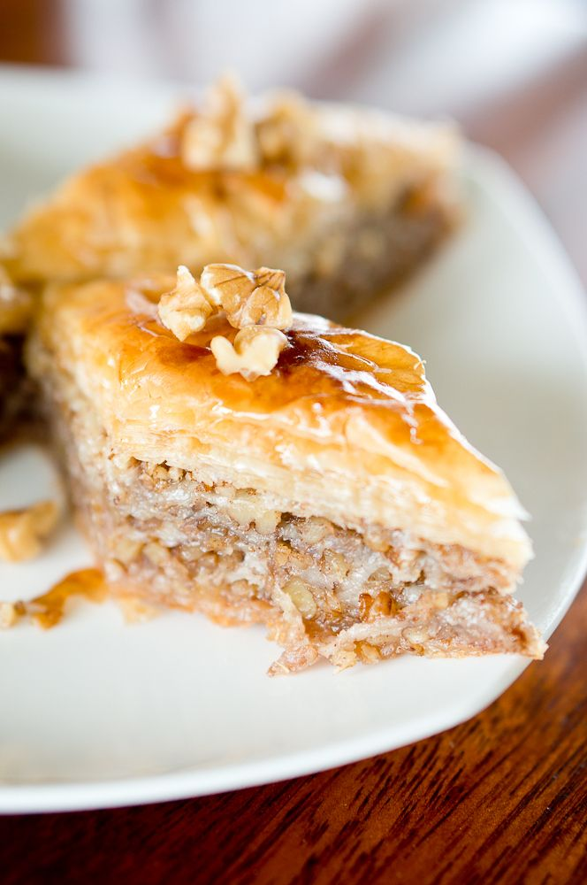 Best Baklava Recipe...seriously the best baklava recipe I have ever made .... I made my filling with walnuts and pecans .... takes awhile to assemble, but so worth it at the end!!