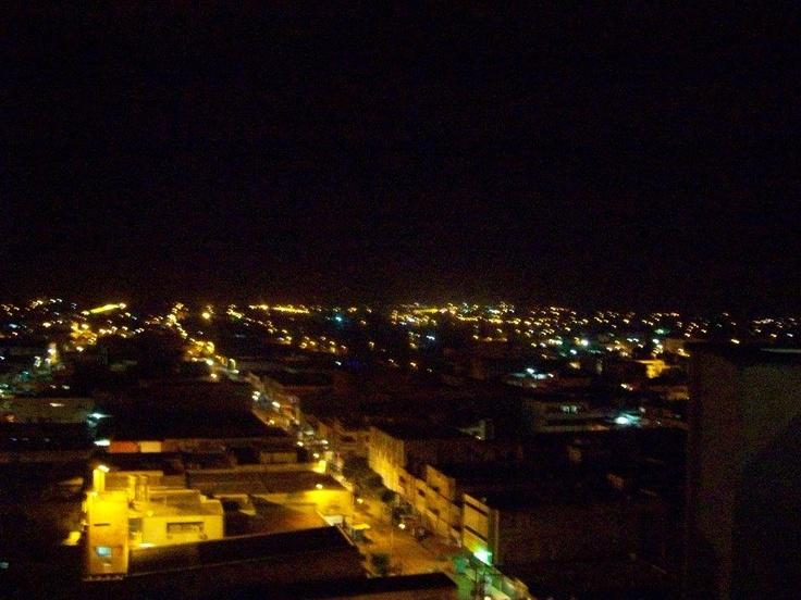 Vista nocturna Maicao - Guajira - Colombia